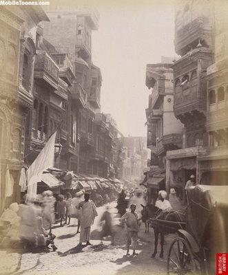 Lahore Old Street Pakistan Mobile Wallpaper