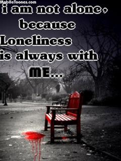 Loneliness Mobile Wallpaper