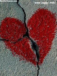 Heart Broken Mobile Wallpaper