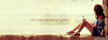 Lonely Girl Quote Mobile Wallpaper