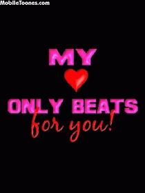 My Love Only Beats For You Mobile Wallpaper