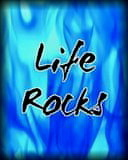 Life Rocks Mobile Wallpaper