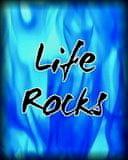 Life Rocks Mobile Wallpaper