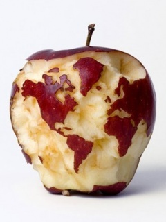 Apple Art Mobile Wallpaper