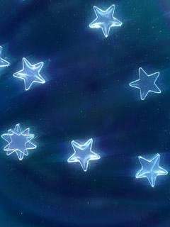 Glossy Stars Mobile Wallpaper