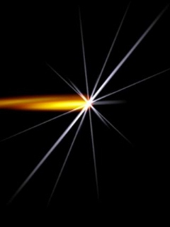 Sparkling Light Effect Mobile Wallpaper