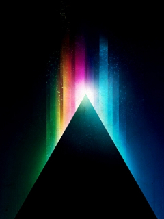 Seven Colors Abstract Mobile Wallpaper