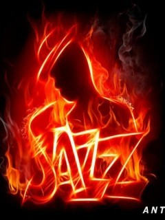 Jazz In Fire Mobile Wallpaper