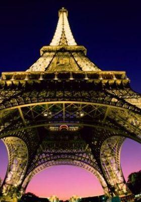 Beneath The Eiffel Tower Paris France Mobile Wallpaper
