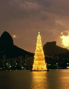 Christmas In Rio De Janeiro Brazil Mobile Wallpaper