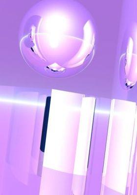 Crisp Lilac Mobile Wallpaper