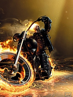 Ghost Rider Mobile Wallpaper