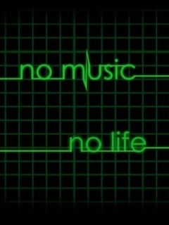 No Music No Life Mobile Wallpaper