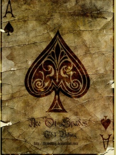 Ace Of Spades Mobile Wallpaper