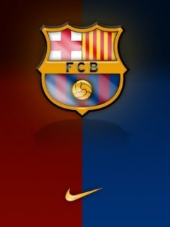 Barca Logo Mobile Wallpaper