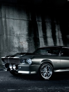 1967 Shelby Gt500 Mobile Wallpaper