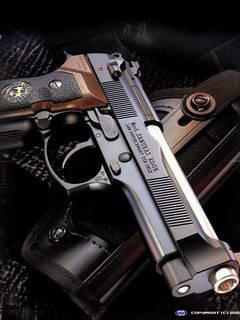 Fully Loaded Gun Mobile Wallpaper