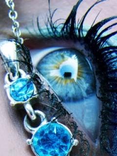 Daimond Eye Mobile Wallpaper