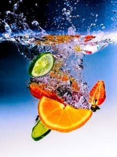 Friut Juice Mobile Wallpaper