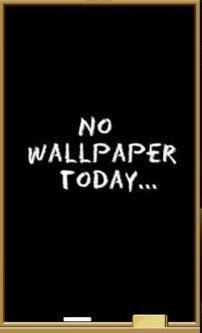 No Wallpaper Today Mobile