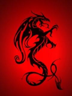 Red Dragon Mobile Wallpaper