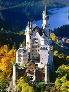Neuschwanstein Mobile Wallpaper