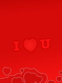 I Love You Mobile Wallpaper
