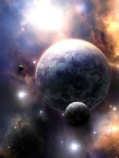 Solar System Mobile Wallpaper