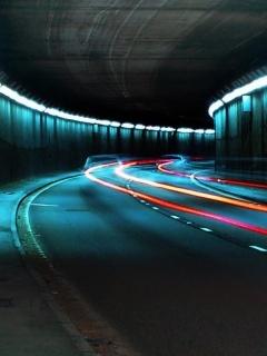 Tunnel Mobile Wallpaper