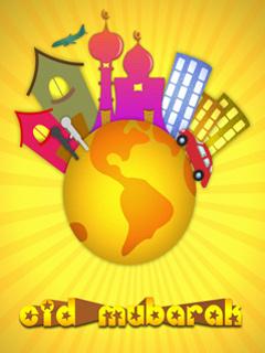 Wow Eid Mubarak Day  Mobile Wallpaper