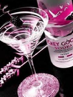Vodka Pink Mobile Wallpaper