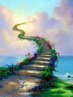 Road To Heaven Mobile Wallpaper