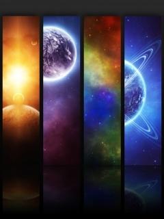 Planets Mobile Wallpaper