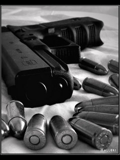Guns N Bullets Mobile Wallpaper