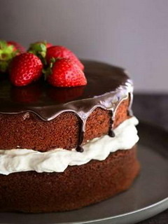 Chocolate Cake Mobile Wallpaper