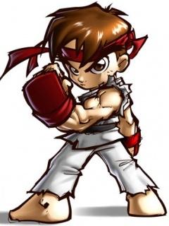 Ryu Mobile Wallpaper