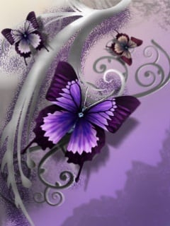 Butterfly Mobile Wallpaper