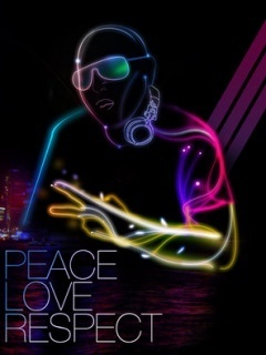 Peace Love Mobile Wallpaper