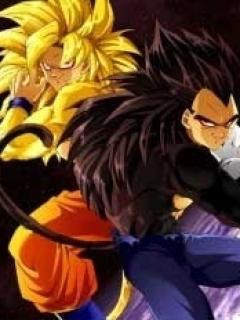 Goku And Vegeta Mobile Wallpaper