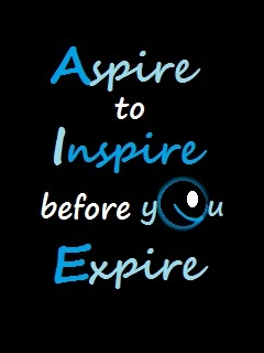 Aspire To Inspire Mobile Wallpaper