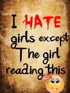 I Hate Girls Mobile Wallpaper