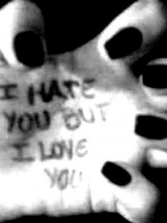 Hate And Love Mobile Wallpaper
