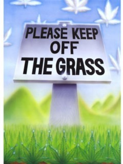 Keep Off The Grass Mobile Wallpaper