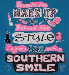 Southern Smile Mobile Wallpaper