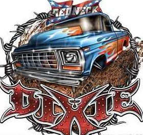 Redneck Dixie Mobile Wallpaper