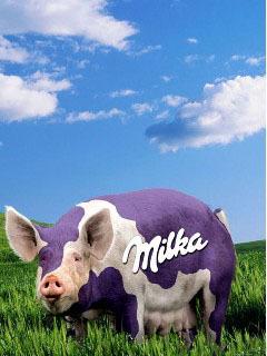 Milky  Mobile Wallpaper