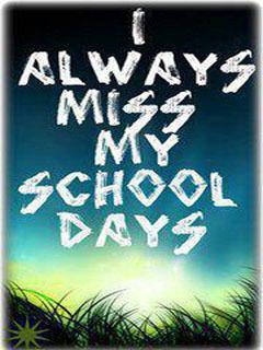 School Days Mobile Wallpaper