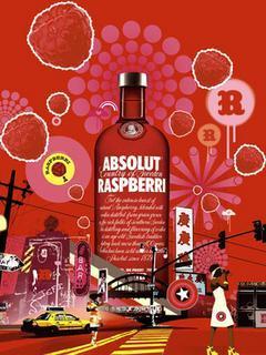 Raspberri Mobile Wallpaper