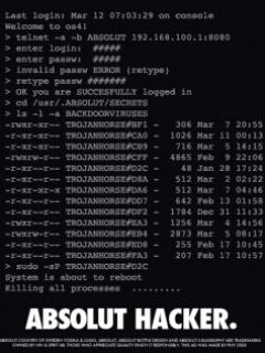 Absolut Hacker Mobile Wallpaper