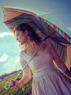 Sweet Girl Mobile Wallpaper